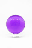 Glass Orb - Crystal Ball Amethyst