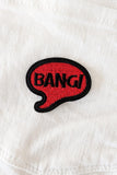 Bang Bang Iron-On Patch