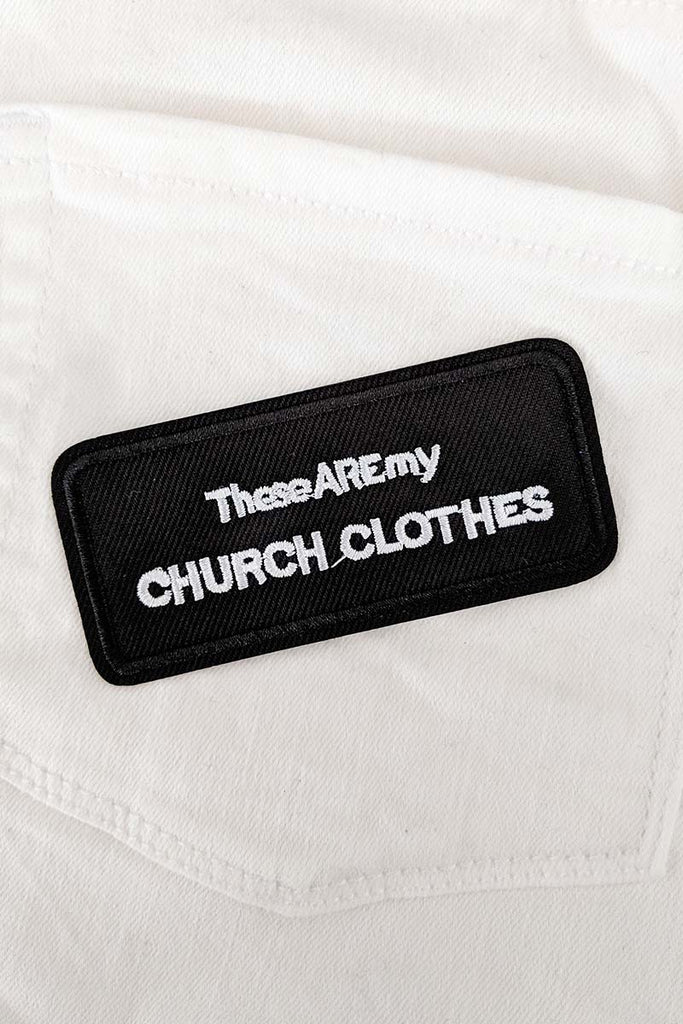Sunday Best Iron-On Patch