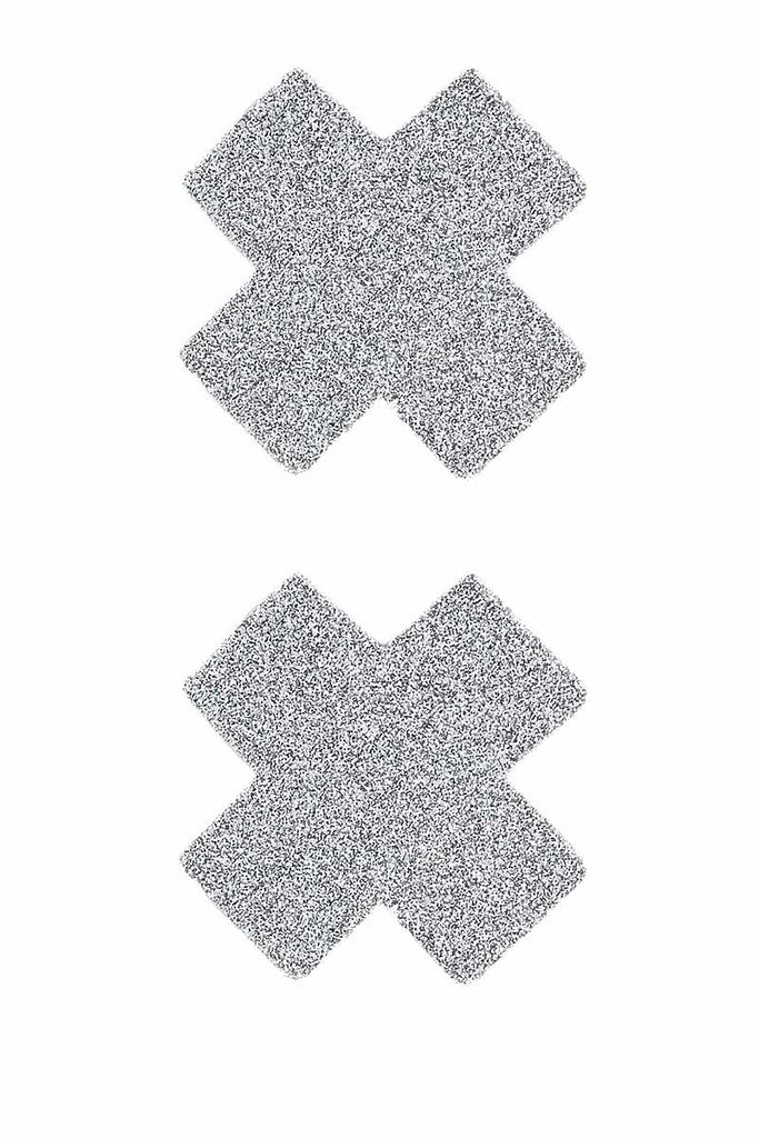 Diamond Sparkle Glitter Cross Mini Pasties