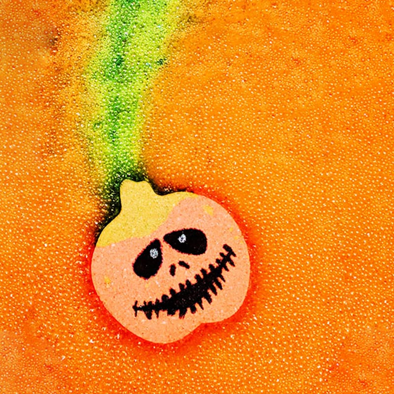 Foaming Jack Halloween Bathbomb