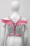 Gabriel Wing Body Harness Pink