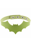 Kiss Of Death Choker Lime