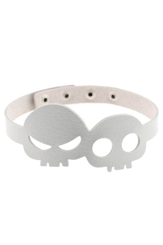 Poison Pleather Choker Red