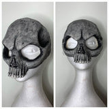Skull Face Mask Black & White