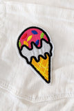 Ice Cream Sundays Iron-On Patch