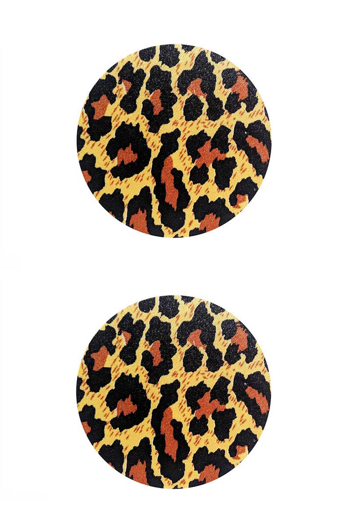 Leopard Print Circle Pasties