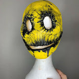 Mr Smiley Mask Yellow & Black