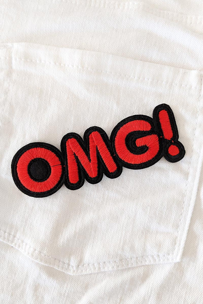 OMG Iron-On Patch