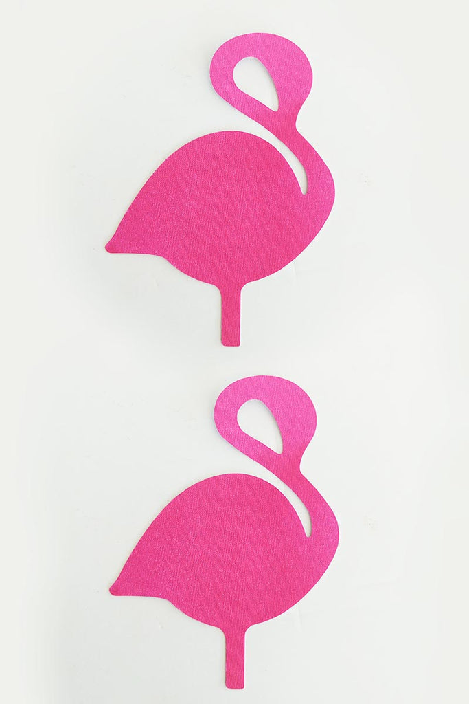 Flamingo Satin Hot Pink Pasties