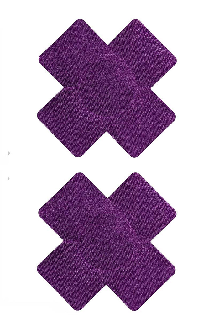Rumba Pasties Purple