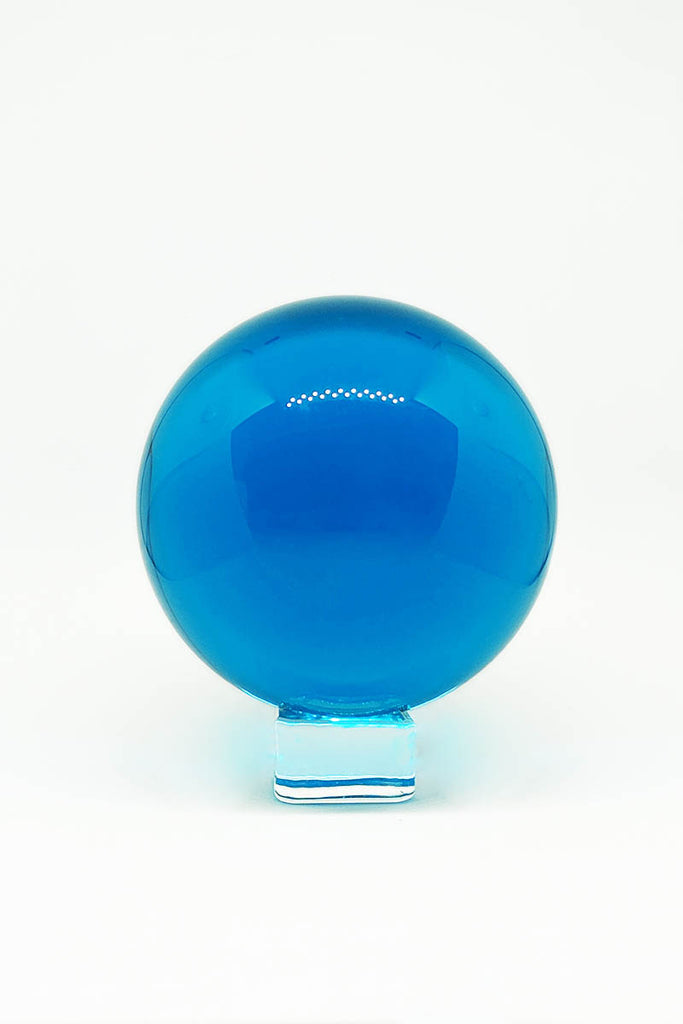 Glass Orb - Crystal Ball Sapphire