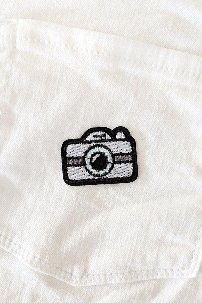 Little Selfie Iron-On Patch