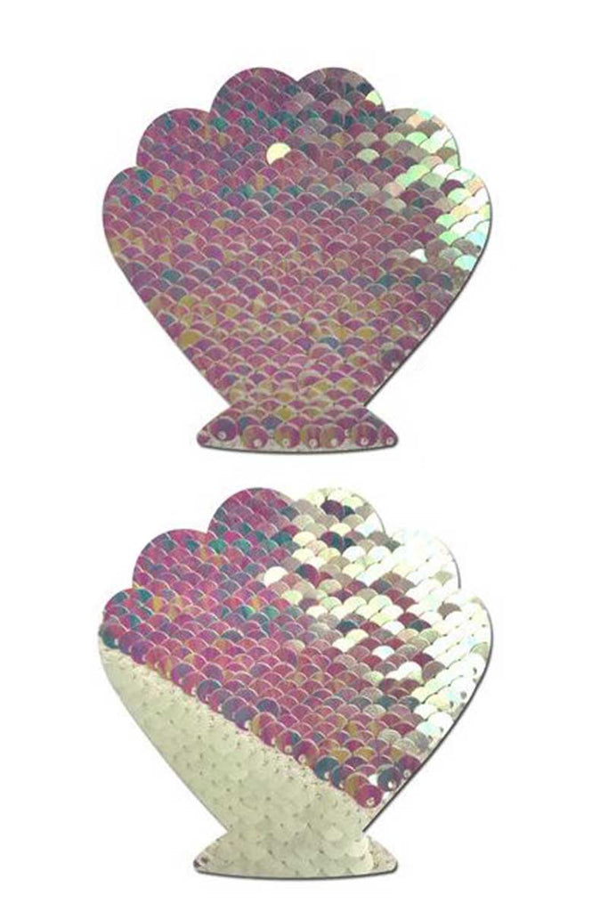 Sequin Shell Pasties Colour Direction Change by Pastease®