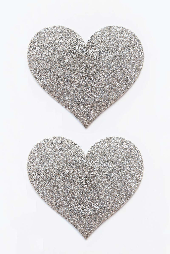 Diamond Sparkle Heart Pasties