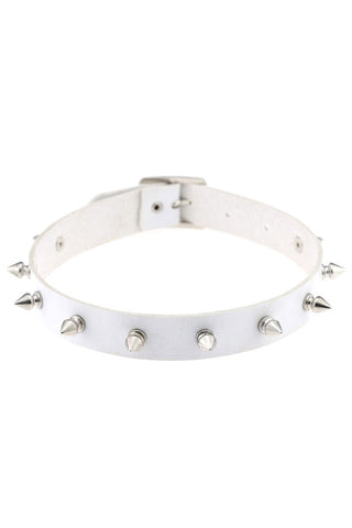 Sasha Spike Purple Choker