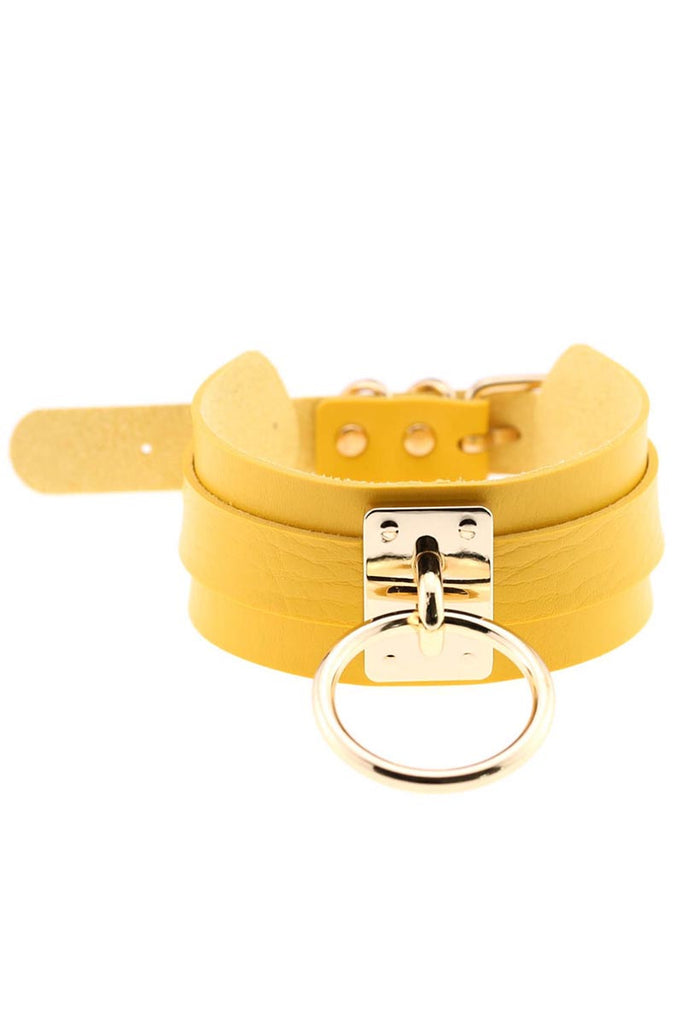 Piper Choker Yellow