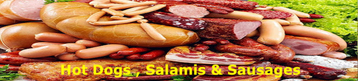 Hot Dogs , Salamis & Sausages