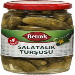 Berrak Pickled Cornichons 340 Gr ( 12 Oz )