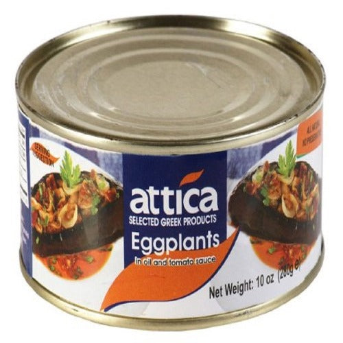Attica Eggplant In Oil And Tomato Sauce 280 Gr ( 10oz )