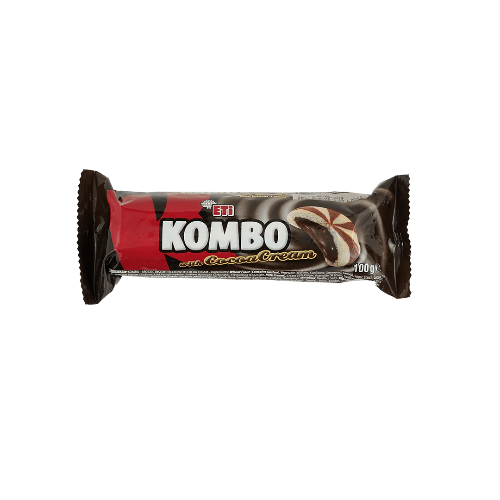 Eti Kombo Cookie With Cocoa Cream 100 Gr ( 3.5 Oz )