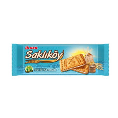 Ulker Saklikoy Cookies With Milk and Cream 100 Gr ( 3.5 Oz )