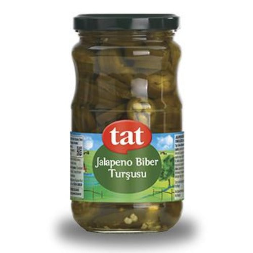 Tat Sliced Jalapeno Pepper Pickle 330 Gr ( 11.6 Oz )