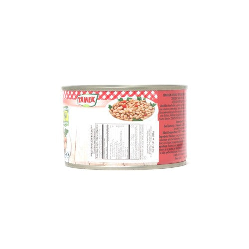Tamek Cooked White Beans In Can 400Gr ( 14.1 Oz )