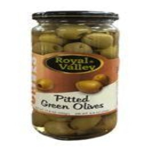 Royal Valley Pitted Green Olives 500 Gr ( 17.6 Oz )