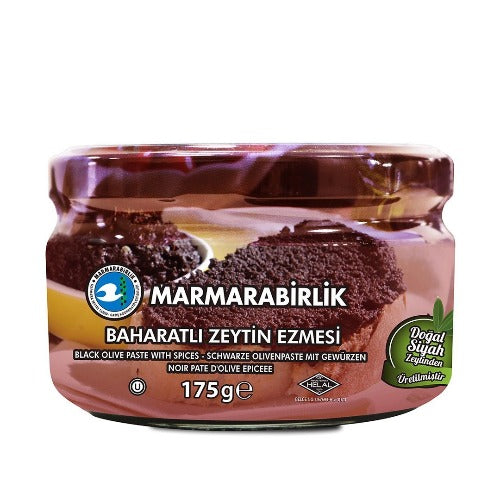 Marmarabirlik Olive Paste Spicy 175 Gr ( 6.1 Oz )