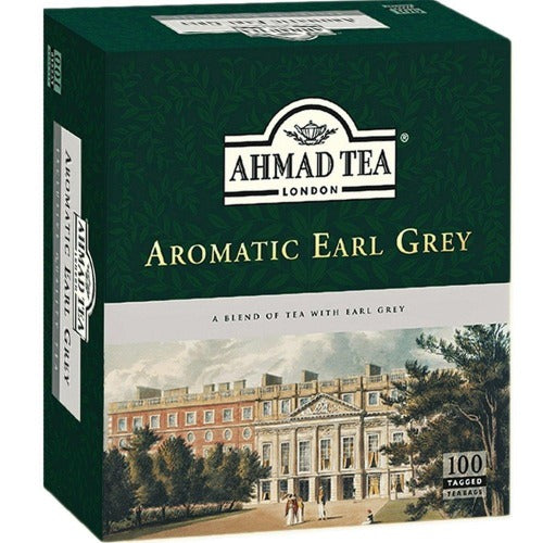 Ahmad Tea Aromatic Earl Grey Tea 100 Tea Bags