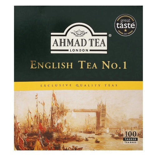 Ahmad Tea English Tea No.1 100 Tea Bags