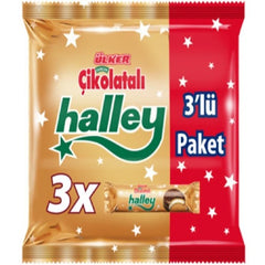 Ulker Halley Mini Chocolate Marshmallow 3 Pack 231 Gr ( 8.1 Oz )
