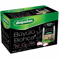 Dogadan Buyulu Bohca Green Tea With Rose 16 Tb