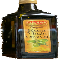 Aleppo Mediterranean Blend Of Canola & Extra Virgin Olive Oil 1 Lt ( 33.8 Oz )