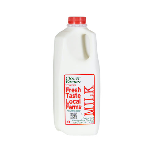 Clover Farms Whole Milk Vitamin D 1.89 L ( 1/2 Gallon )