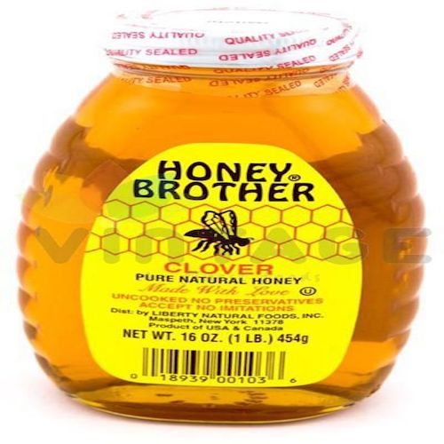 Honey Brother Clover Honey 454 Gr ( 1 Lb )