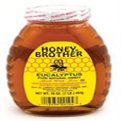 Honey Brother Eucalyptus Honey 454 Gr ( 1 Lb )