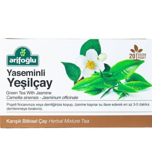 Arifoglu Green Tea With Jasmine 20 Tb