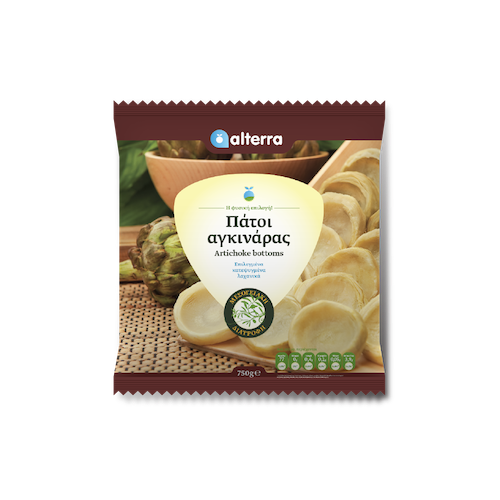 Alterra Frozen Artichoke Bottoms 750 Gr ( 26.4 Oz )