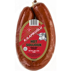 Apikoglu Hot Turkish Sausage 454 Gr ( 1 Lb )