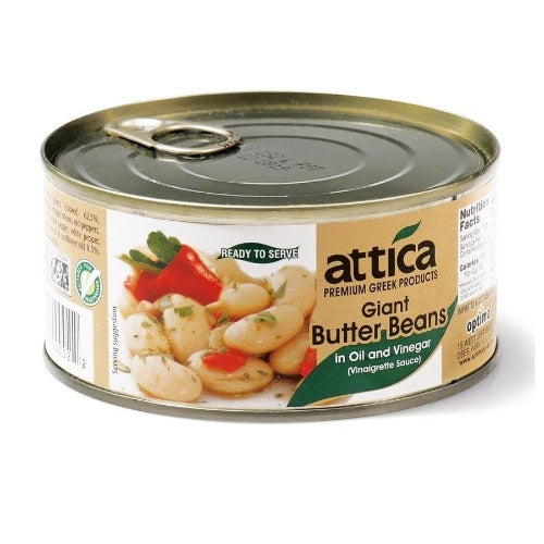 Attica Giant Butter Beans In Oil And Vinegar 280 Gr ( 10oz )