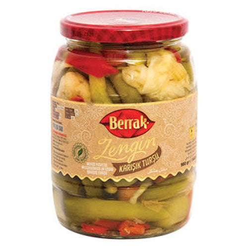 Berrak Zengin Mixed Pickles 980 Gr ( 34.5 Oz )
