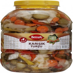 Berrak Mixed Vegetable Pickles 5 Kg ( 11 Lbs )