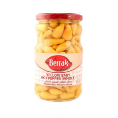 Berrak Biberiye Tiny Hot Pepper Pickles 650 Gr ( 23 Oz )