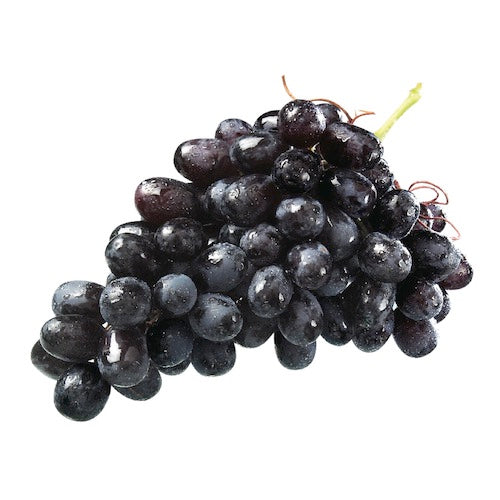 Black Seedless Grapes by LBS