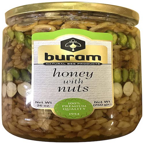 Buram Honey with Nuts 750 Gr ( 26 Oz )