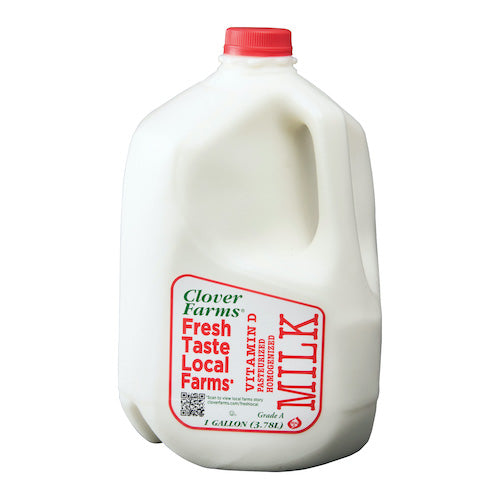 Clover Farms Whole Milk Vitamin D 3.78 L ( 1 Gallon )