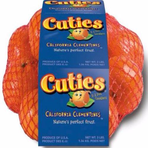Cuties Clementine 3lbs by EACH