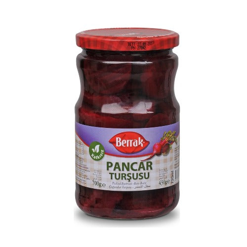 Berrak Sliced Pickled Beetroot 700 gr ( 24.6 Oz )